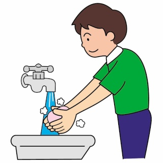 Pictos laver les mains pour fabriquer s quences - Dessin se laver ...