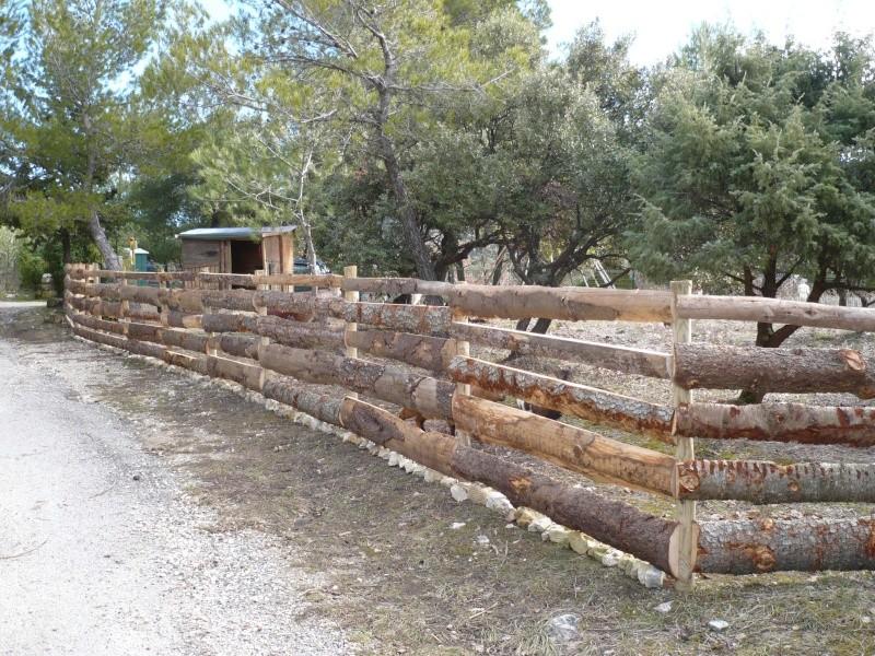 Cloture en bois ou cloture lectrique - Ou acheter des copeaux de bois pour jardin ...