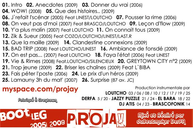 [MULTI] Projay Bootleg 2005 2009