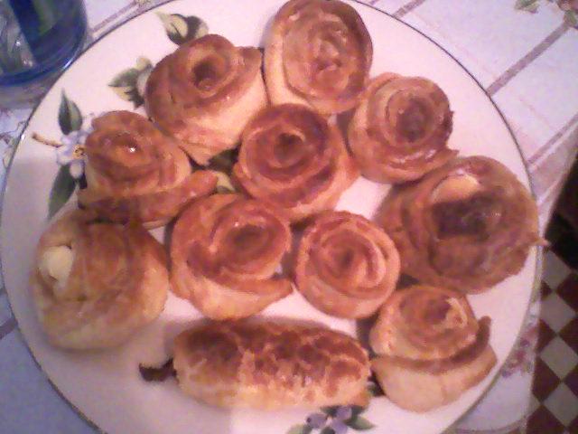 roses au fromage dans Les salés photo351