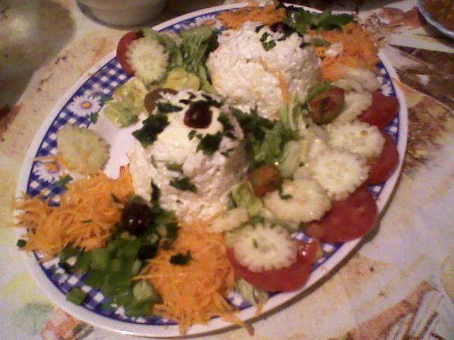 ma salade dans Les salés pot10
