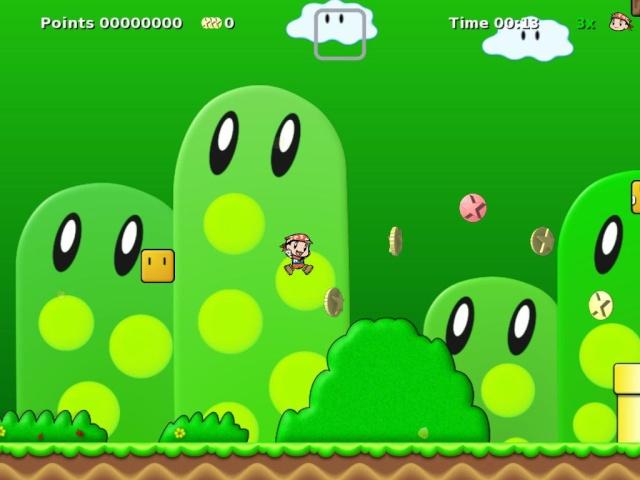 حصريا لعبة Secret Maryo Chronicles 2009 اصدار جديد اللعبة الرائعه