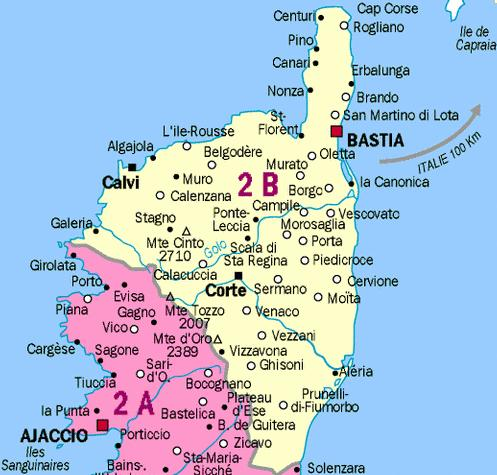 Nord de la Corse - 2B