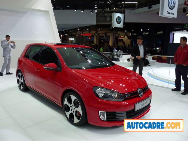 nouvelle golf 6 gti. Black Bedroom Furniture Sets. Home Design Ideas