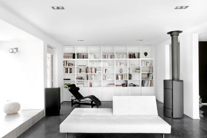 Couleur mur pour cuisine blanche inox for Carrelage gris quelle couleur pour les murs