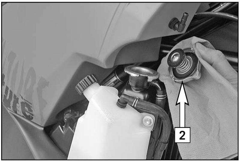 Schema Elettrico Ktm 990 Adventure : Diminution liquide de refroidissement page
