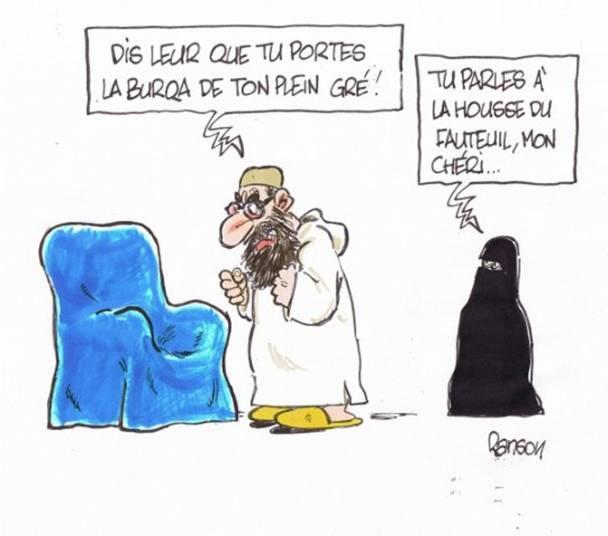 Reçu une visiteuse en burqa…  Ecriture : vos mots en toute liberté  FORUM