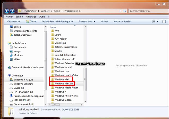 Forum Windows 7 et Windows 8