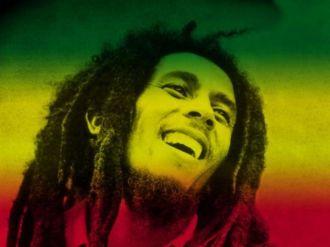 décoration chambre ado avec couleurs Bob Marley