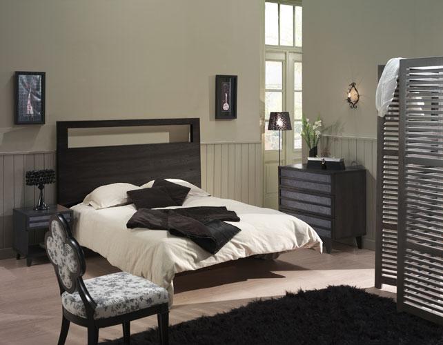 chambre avec meuble noir » Photos de design d\'intérieur et ...