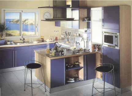 Cuisine equipee quelle couleur pour mes murs for Quelle couleur pour les murs d une cuisine