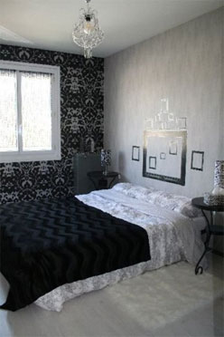 souhaite changer sa chambre en noir et blanc. Black Bedroom Furniture Sets. Home Design Ideas