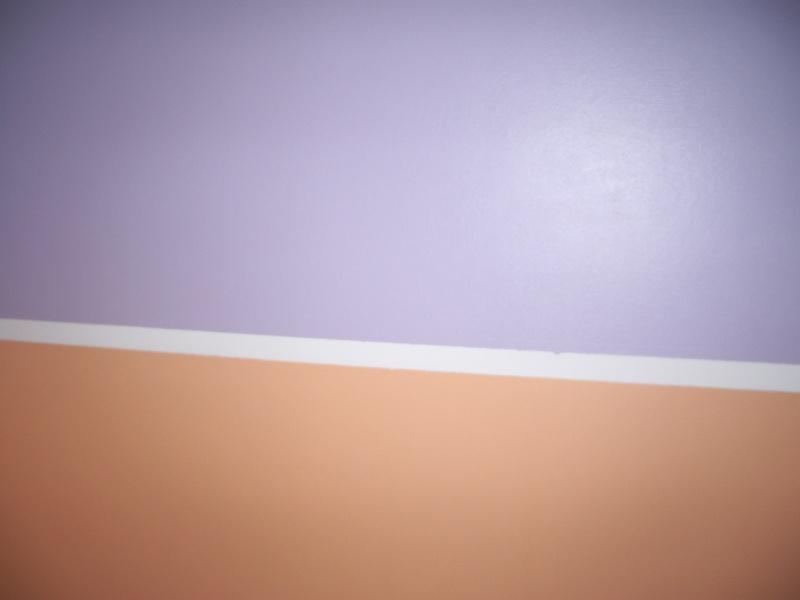 Chambre de b b fille photo p 28 page 11 for Retouche peinture plafond