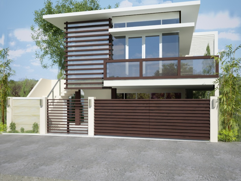 Philipphines modern gate design joy studio design for Modern house gate designs philippines