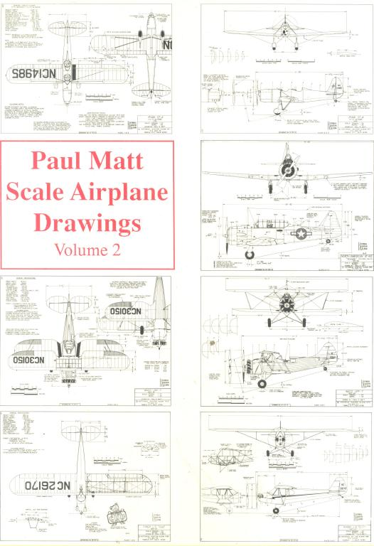 Scale Airplane Drawings, Volume 2 free ebook download
