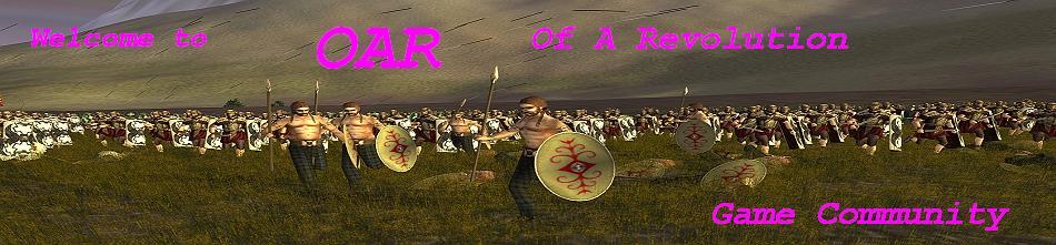 OAR     Of A Revolution