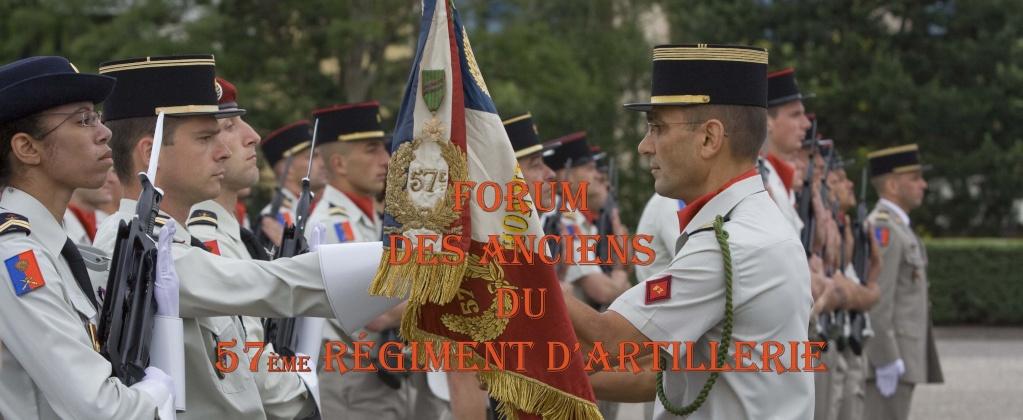 Forum des anciens du 57e régiment d'artillerie