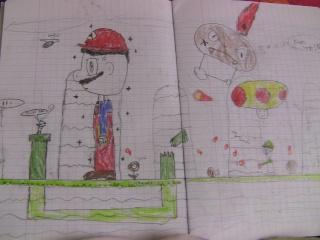 Galerie de phil92 - Mario et Luigi dans New super mario bros